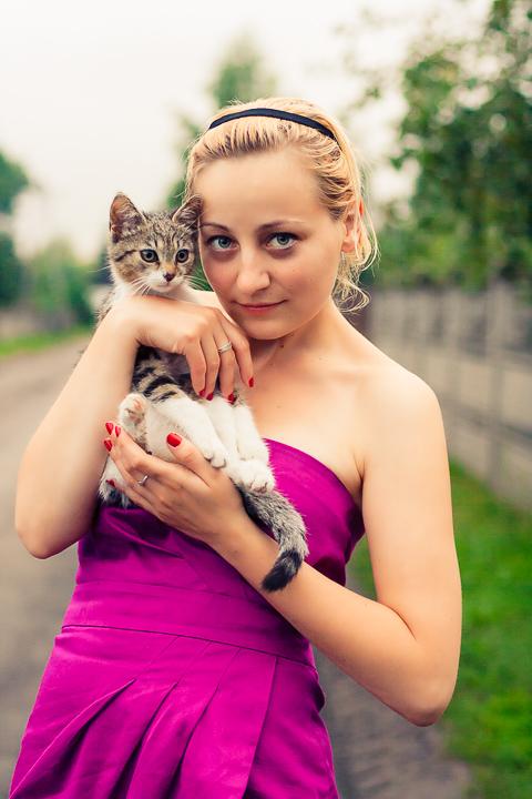 Zdjęcia rodzinne ze zwierzętami