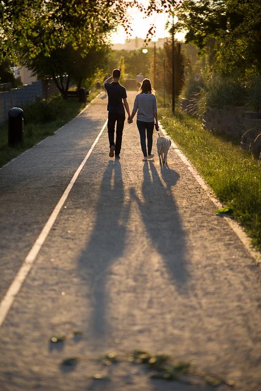 Romantyczne zdjęcie pary